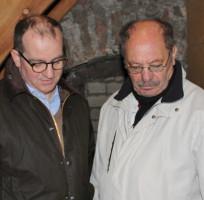 Im Gespräch mit Theo Bott, dem Vorsitzenden des Fördervereins Leonharduskirche