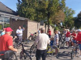 SPD-Radtour durch Stockstadt