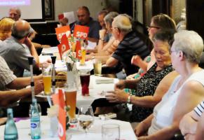 Mitgliederversammlung in der Zollhausstube am 28.Juni 2019