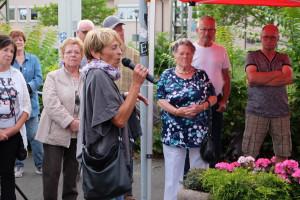Maria Schüßler, Sprecherin der BI gegen Bahnlärm