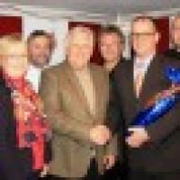 Gratulant zum 75.Geburtstag von Ehrenbürger Lothar Schaffrath