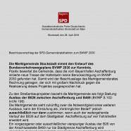 SPD Beschlussvorlage
