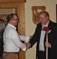 Gratulation zur Wahl als Bürgermeisterkandidat durch Rafael Herbrik