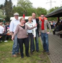 Beim traditionellen 1.Mai-Fest 2013 mit der regionalen SPD-Prominenz
