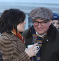 Mit Ehefrau Andrea beim Neujahrsempfang der Stockstädter SPD am 1.1.2014