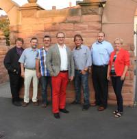 Im Kreis der SPD-Gemeinderäte 2013
