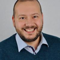 Rafael Herbrik, Ortsvereinsvorsitzender und vom Vorstand als Kandidat für das Amt des Bürgermeisters vorgeschlagen