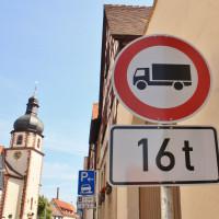Stockstadt - Durchfahrt für LKW ab 16t verboten