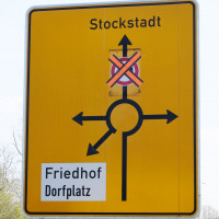 Schwerlastverkehr erlaubt