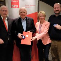 Verleihung der Willy-Brandt-Medaille